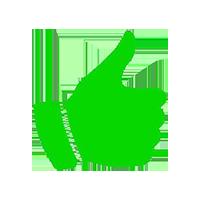 icona pollice verde