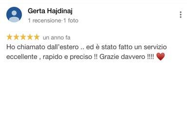 Gerta_Hajdinaj_recensione_google