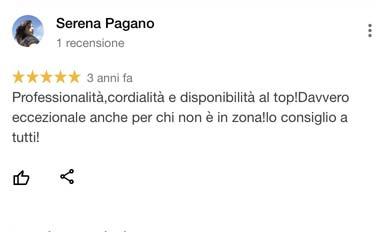 SerenaPagano_recensione_google